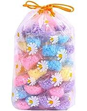 DOITOOL 50 szt. 6 g pranie koralik zapach pranie koraliki wzmacniacz zapachu prania do wspaniałego pachnącego ubrań