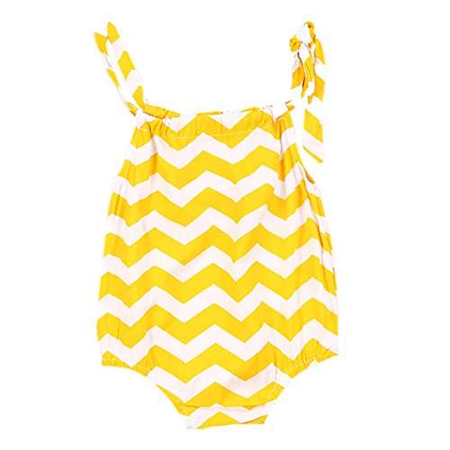 Yellow Striped Jumpsuit Toddler Clothes product image