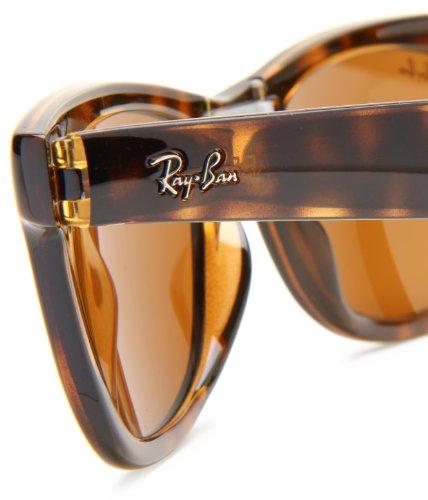de RB4105 50 Wayfarer Havana Lunette Wayfarer Light Tempered Ban soleil Brown Glass mm Folding Ray Verres 8xIqE0P
