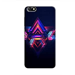 Cover It Up - Abstract Red&Blue Honor 4X Hard Case