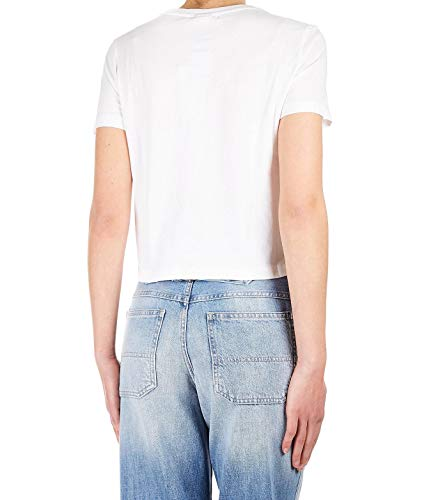 Mujer Algodon Fila T Blanco 684490m67 shirt UdxTaqO6