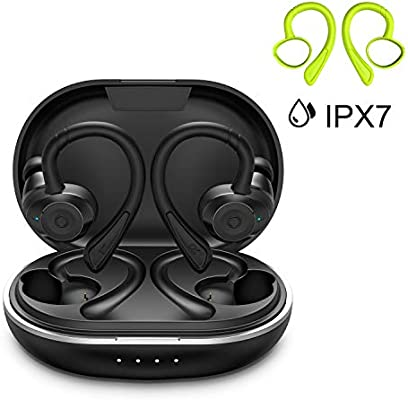 HolyHigh Auriculares Bluetooth 5.0 Inalámbricos Deportivos ...