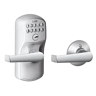 Schlage FE575 PLY Plymouth Keypad Entry with Auto-Lock (B001COEZTU) | Amazon Products