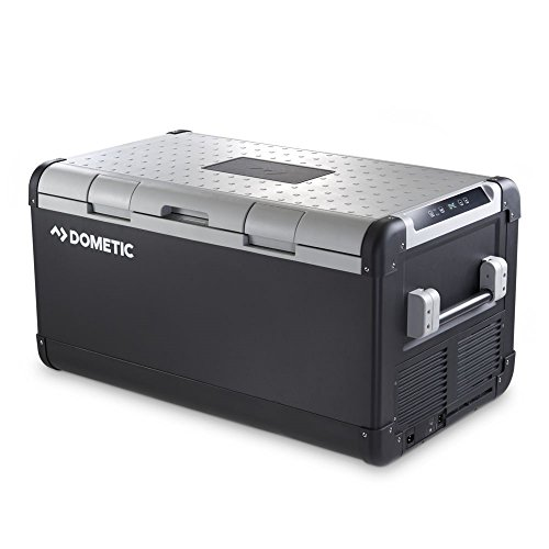 - Dometic CFX 100W Black/Gray CFX 100W 12V Electric Powered Portable Cooler (Fridge Freezer)