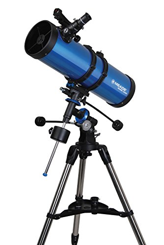 Meade Instruments 216006 Polaris 130 EQ Reflector Telescope (Blue) Meade