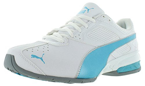 Puma Tazon 6 ancha Zapatillas de entrenamiento White-Blue Atoll