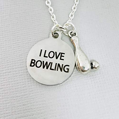 - Bowling Gifts for Women Bowler Jewelry Necklace