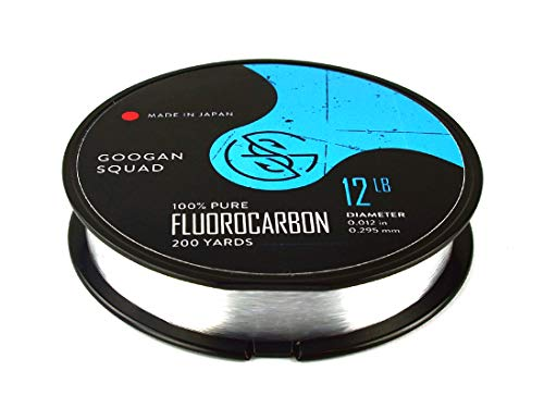 Catch Co. Googan Squad 100% Pure Fluorocarbon Line, 200yd (8lb)