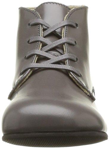 Start Rite Adam, Unisex - Kinder Stiefel & Stiefeletten Grau - Gris (Grey Leather)