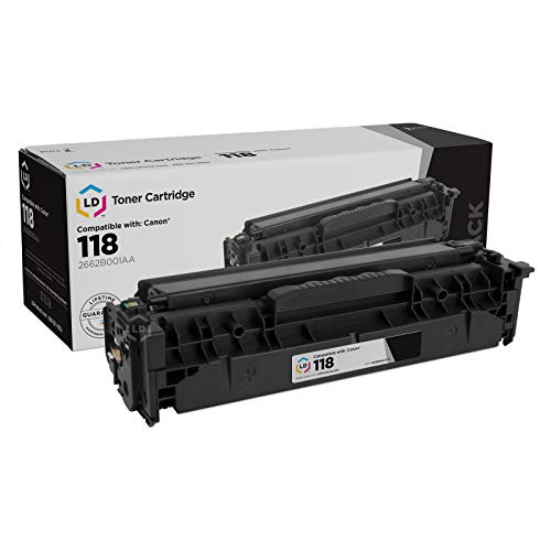 LD Compatible Toner Cartridge Replacement for Canon 118 2662B001AA (Black)