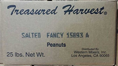 Roasted & Salted Fancy Peanuts - 25 lb. Box - In the Shell (Roasted In Shell Peanuts 25lbs compare prices)