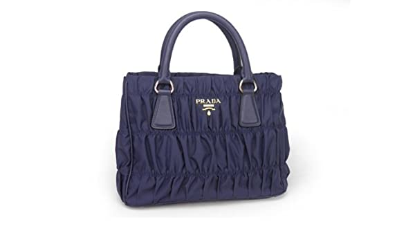 cca53e183ce3 Prada Tessuto Gaufre Tote in Navy Blue BN2393  Amazon.ca  Shoes   Handbags