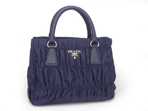 bc0da61cb805 ... coupon code for prada tessuto gaufre tote in navy blue bn2393 cc2ec  16963