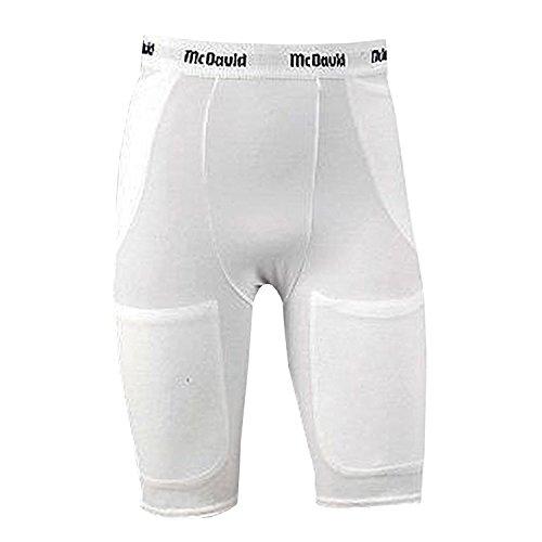MCDAVID 750T 5 POCKET FOOTBALL GIRDLE WHITE ADULT 4XL [Misc.]