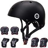 XJD Kids Bike Helmet Toddler Helmet 3-13 Years Sport Protective Gear Set Boy Girl Adjustable Child Cycling Helmet with…