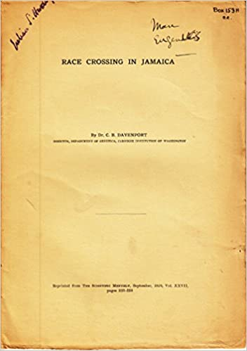 Race Crossing in Jamaica: Amazon.com: Books