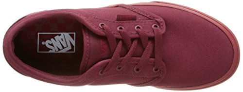 Top Vans Boys' Yt Sneakers Red Low Atwood Burgundy qwHTwzn8
