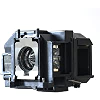 Litance Projector Lamp Replacement ELPLP67, V13H010L67 for Epson EX3210, EX5210, EX7210, Home Cinema 500/ 710HD/ 750HD, PowerLite 1221/ X12/ X15, VS210, VS220, VS310, VS315W and more