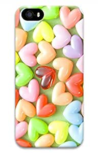 Customized iPhone 4 Case - Popular Colorful Candies iPhone 4/4S Hard 3D Case Cover by lolosakes