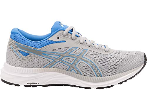 ASICS Women's Gel-Excite 6 Running Shoes, 6.5M, MID Grey/Blue ()