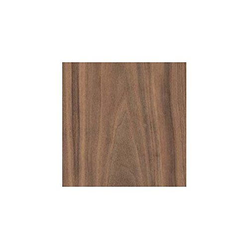 Wood Veneer, Walnut, Flat Cut, 2x8, PSA Backed by Veneer Tech