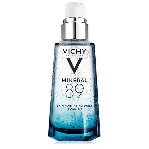 Vichy Mineral 89 Hydrating Hyaluronic Acid Serum and Daily Skin Booster, For Stronger, Healthier Looking Skin, 1.69 Fl Oz (Best Moisturizer For Dehydrated Acne Prone Skin)