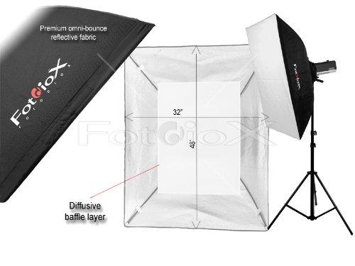 Fotodiox Pro New Soft Box, Black (SBX-Stnd-Norman900-32x48)