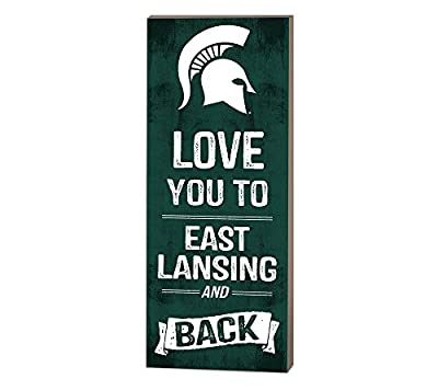 NCAA Love You to... and Back Wood Sign