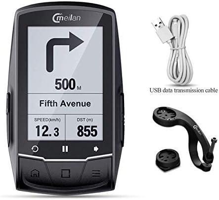 YMYGCC Bicicleta Cuentakilometros Sensor de Velocidad GPS Bici de la computadora inalámbrica de Bicicletas de MTB Velocímetro cuentakilómetros Monitor de Ritmo cardíaco Opcional 27 (Color : M1): Amazon.es: Deportes y aire libre