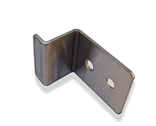 Stampled Stainless Steel Restroom Partition Door Hook - ADA Compliant by Young's Catalog