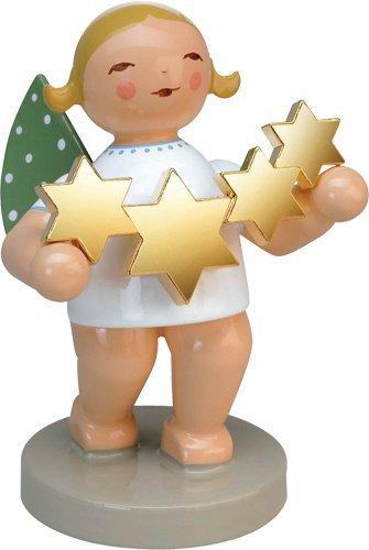 Handpainted Wooden Grunhainichen Star Catcher Angel