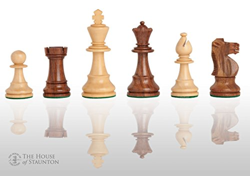 The House of Staunton - The French Lardy Chess Set - Pieces Only - 3.75