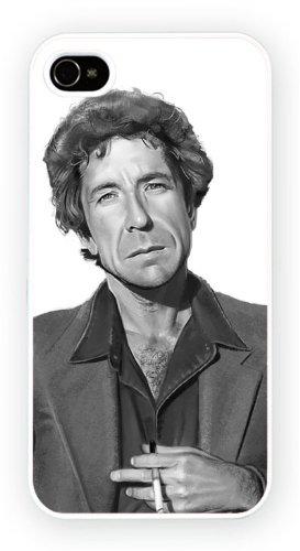 Leonard Cohen - Charcoal, iPhone 6, Etui de téléphone mobile - encre brillant impression