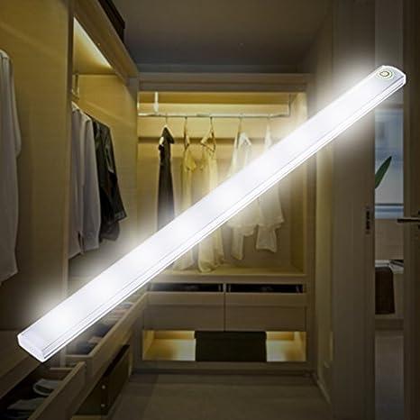 30CM LED Touch Sensor Switch Light Closet Light Bar Wardrobe Cabinet Night Lamp