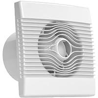 Ventilator Badlüfter Wandventilator Lüfter Ø 100, 120, 150 mit Nachlaufrelais, Feuchtesensor Timer, WC Bad Küche, AirRoxy pRemium