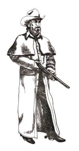 [Range Coat Pattern] (Woman Gunslinger Costume)