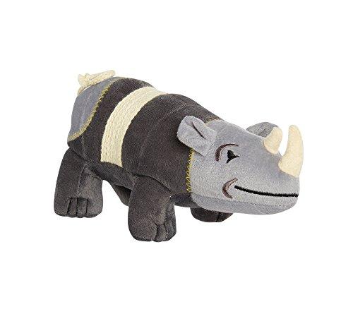 Rhino Rope Toy - Animal Planet Rhino Plush Toy