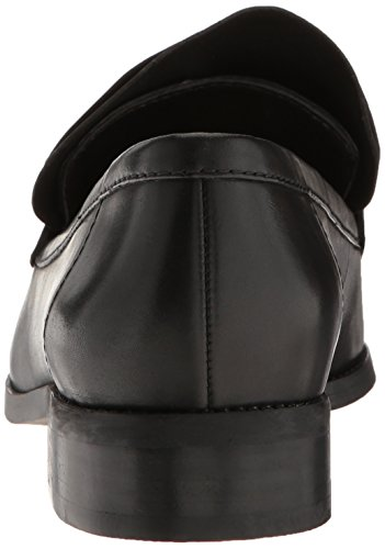 Toe Nine Black Women's West Pointed Leather Flat Strong XzfPgzwnxZ