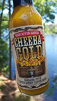High River Sauces Cheeba Gold Barbados Style Scotch Bonnet Pepper Sauce (Single)