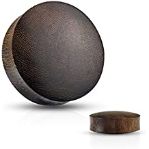 Convex Saddle Fit Snakewood Organic Tunnels - Available in Multiple Sizes - Sold as a Pair