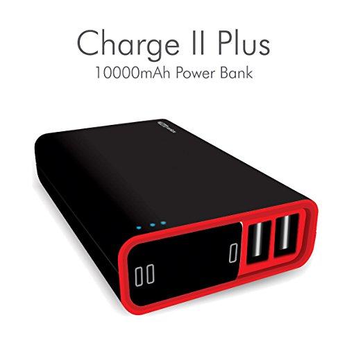Portronics POR 386 Charge II Plus 10000 mAh Power Bank  Black