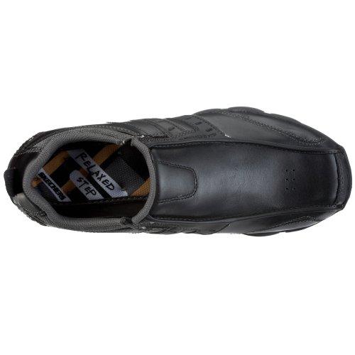 Relajó-delson-brewton Zapatilla De Deporte Negro De Los Hombres De Skechers Usa Hombres Envío gratuito extremadamente Barato Venta New Styles Nuevo Excelente precio barato Tienda outlet de envío en línea BSwG6GN4