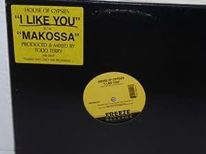 "HOUSE OF GYPSIES I Like You/ Makossa 12"" Freeze Records MR-50029 NM"