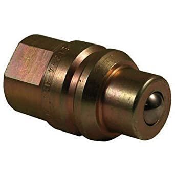 Hydraulic Adapter 3//4 16 Forb APACHE HOSE /& BELTING INC S115 3//4 16 Forb Apache 39041515 JD Old Style Cone Male Ball Tip