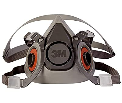3M Half Facepiece Reusable Respirator 6200/07025(AAD), Respiratory Protection