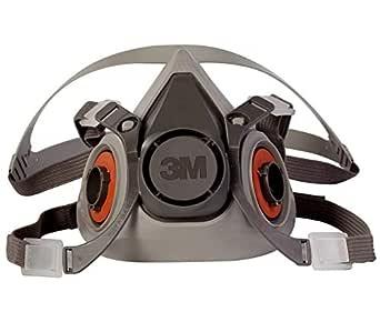 3M Half Facepiece Reusable Respirator 6200, Gases, Vapors, Dust, Paint, Cleaning, Grinding, Sawing, Sanding, Welding, Medium