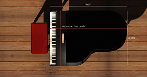Free shipping clairevoire grandeur classic premium velvet for Yamaha c3 piano review