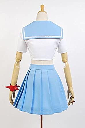 Amazon.com: Cosplaybar KILL la KILL Mako Mankanshoku Goku Cosplay Costume Ladies L: Clothing