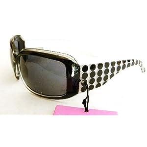 (3 pack + BONUS) Foster Grant Womens Poka Dot Sunglasses (405) 100% UVA & UVB Protection-Shatter Resistant + FREE BONUS MICROSUEDE CLEANING CLOTH