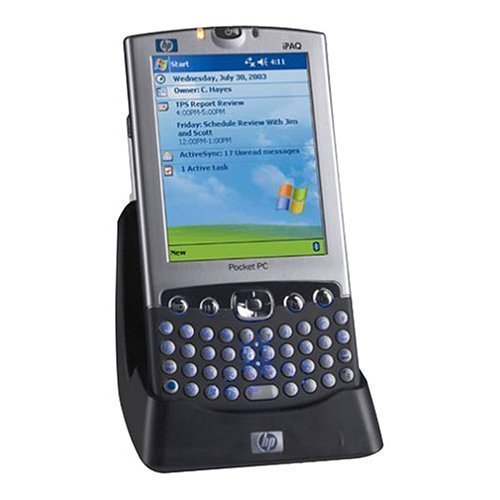 HP iPAQ h4355 Pocket PC with integrated Wi-Fi and backlit keyboard